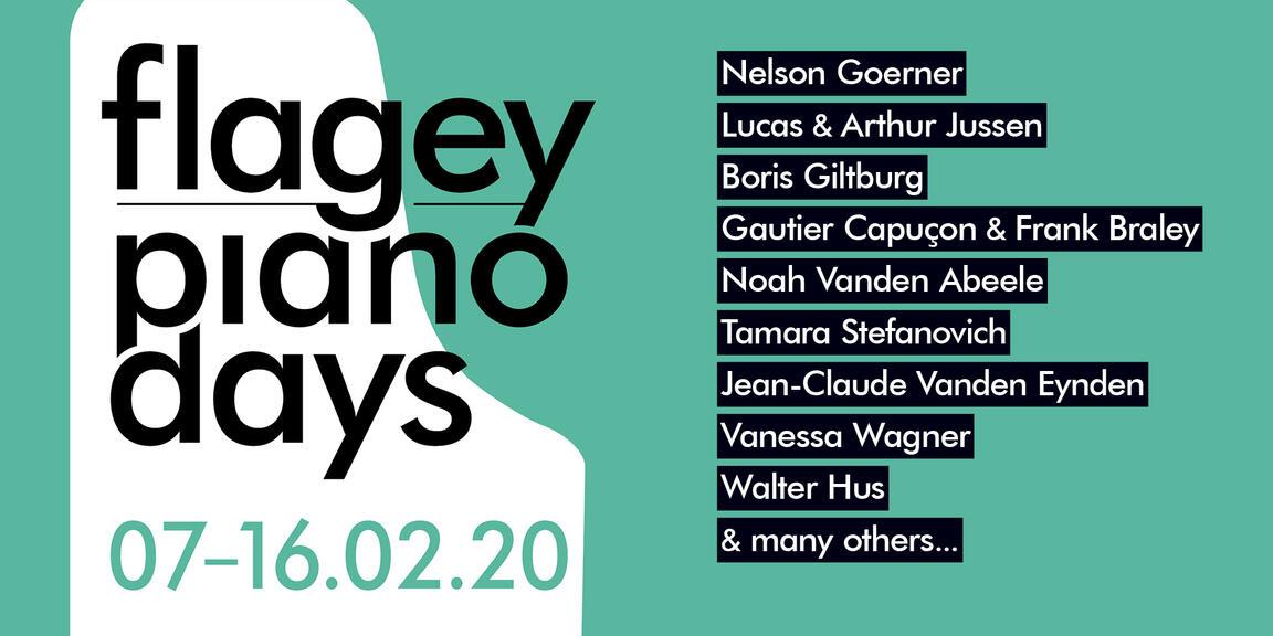 Flagey Piano Days 2020