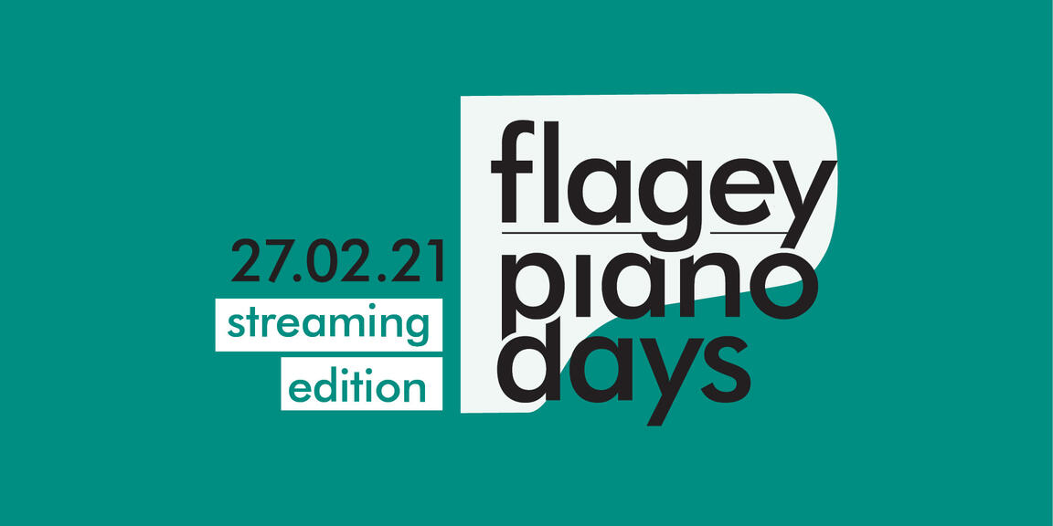 Flagey Piano Days 2021 'streaming edition'