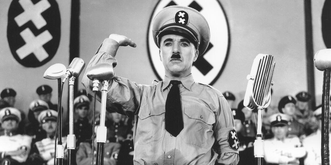 Image of Chaplin's The great dictator