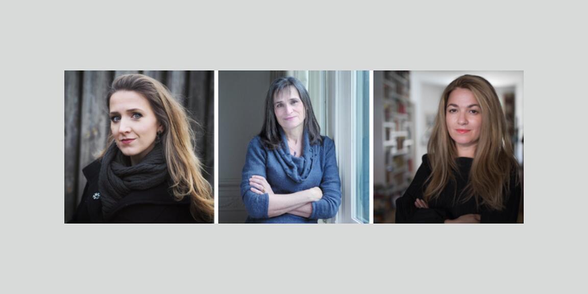 Alicja Gescinska, Kristien Hemmerechts, Mira Feticu