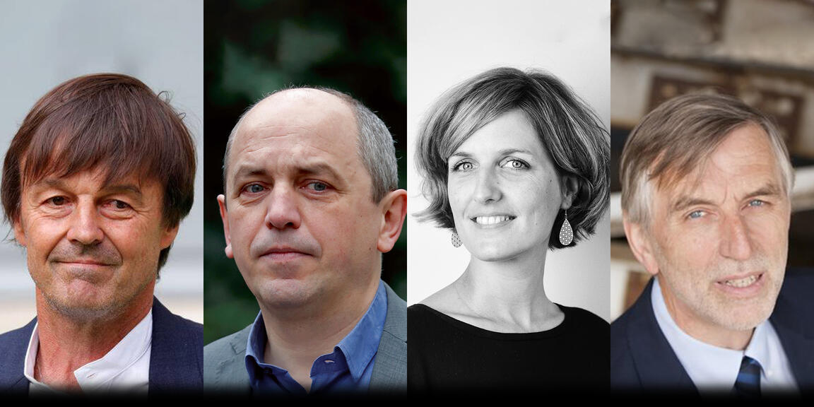 Nicolas Hulot, Pierre Larrouturou,Céline Tellier,Jacques Crahay