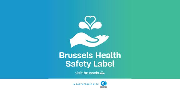 Flagey has received the 'Brussels Health Safety Label'