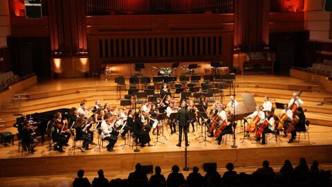 Students concert by the Academy of Ixelles