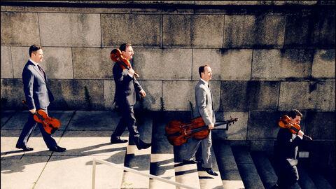 Jerusalem Quartet: Gary Hoffman & Miguel da Silva