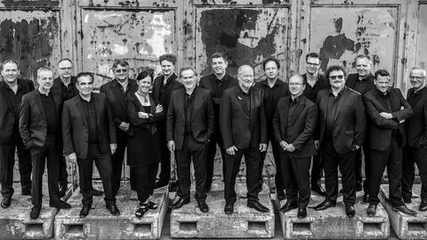 Brussels Jazz Orchestra 25 years with Maria Schneider