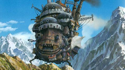 Howl's moving castle (FR)