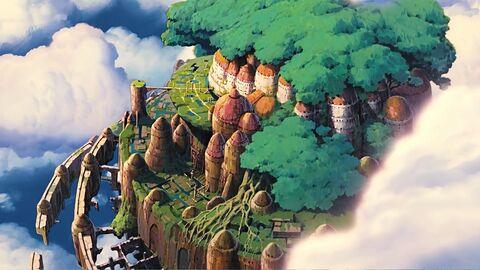 Tenku No Shiro Laputa (Laputa, the air castle)