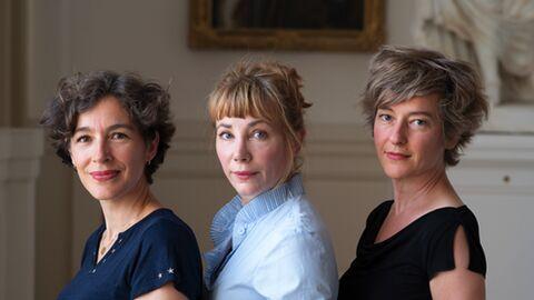 Julie Depardieu, Juliette Hurel & Hélène Couvert