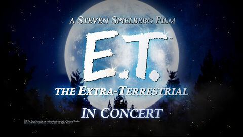 E.T. Live in Concert - extra date!