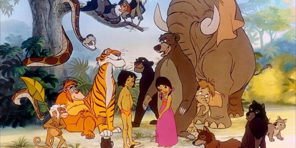 Le Livre De La Jungle Wolfgang Reitherman Jeunes Fans De
