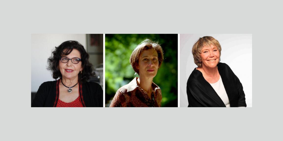 Faouzia Charfi, Caroline Lamarche, Simone Susskind