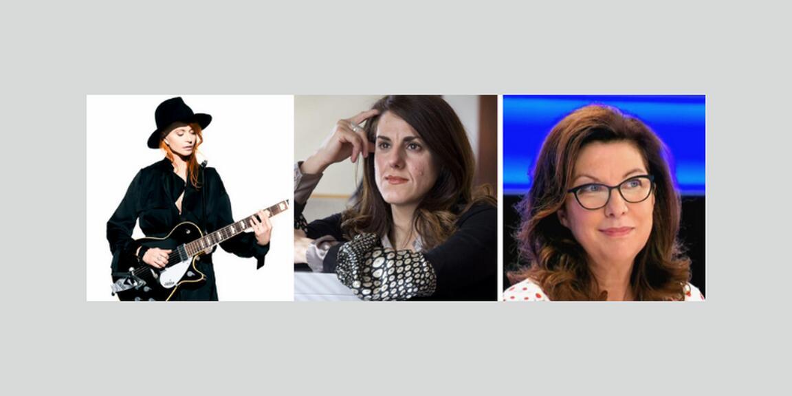 Axelle Red, Djemila Benhabib, Sylvie Lausberg