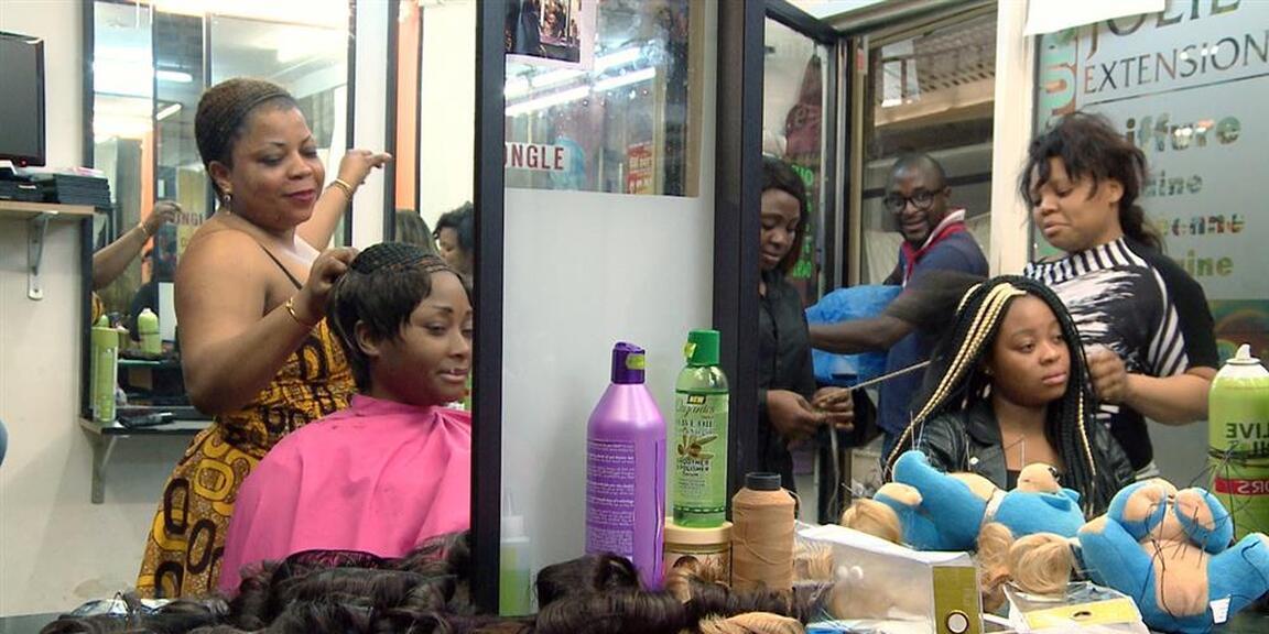 chez jolie coiffure | rosine mbakam | flagey