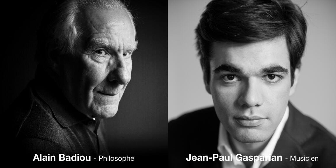 Alain Badiou & Jean-Paul Gasparian