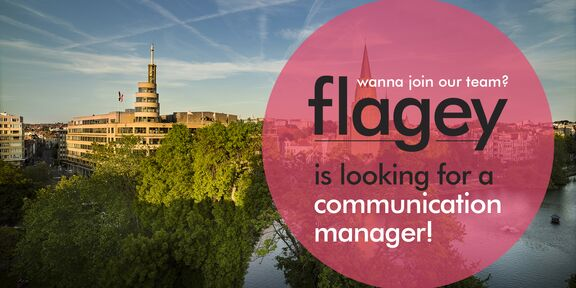 Flagey recherche un(e) Responsable de la Communication et du Marketing  (h/f/x)