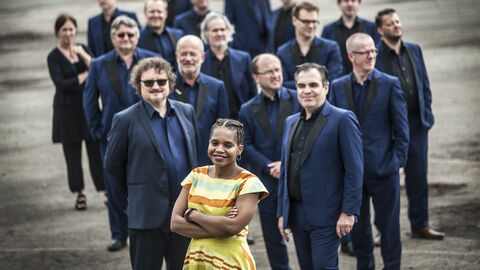 Tutu Puoane & Brussels Jazz Orchestra : We Have a Dream