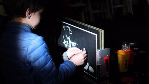 Le laboratoire d'animation : écrans d'épingles