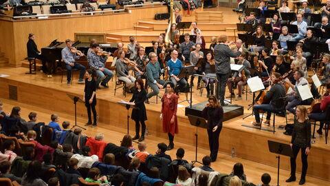 Concert interactif pour les écoles