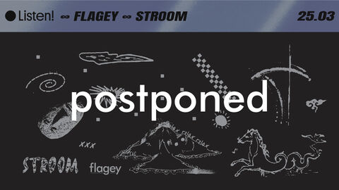 Listen! ∞ Flagey ∞ Stroom w/ Terrence Dixon 'live'