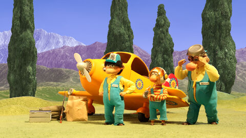 L'équipe de secours en route pour l'aventure !