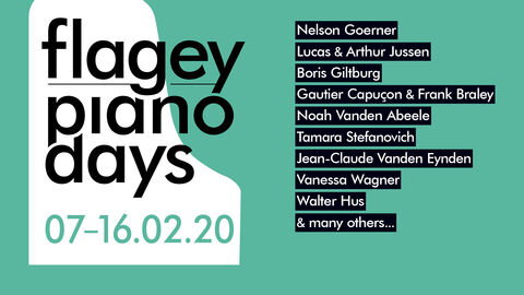 Flagey Piano Days 2020