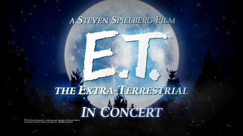 E.T. Live in Concert - troisième concert !