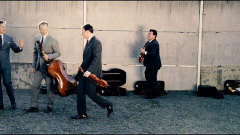 Jerusalem Quartet, Gary Hoffman & Miguel da Silva