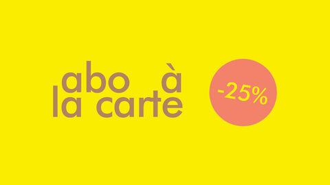 -25% sur 4 activités au choix!