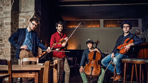 Classical music meets pop avec le Vision String Quartet