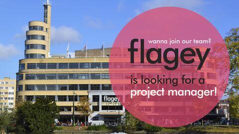 Flagey recherche un(e) project manager