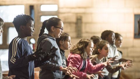 Rejoins Flagey Academy: les prochaines auditions auront lieu les 11 et 12 septembre!