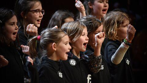 8 - 12 ans : formation initiale au chant choral dans des écoles primaires