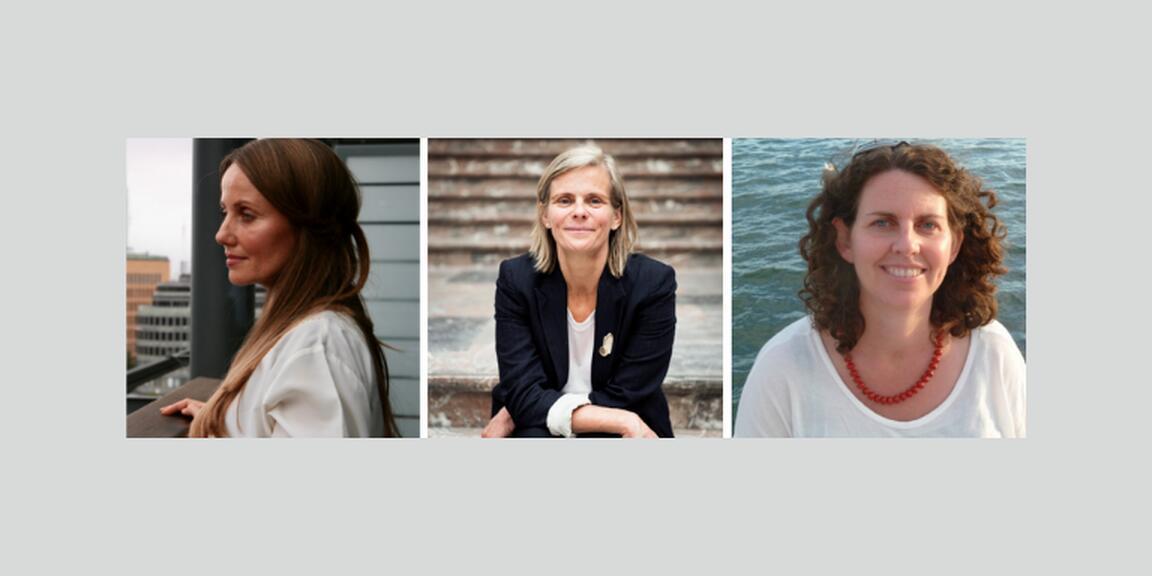 Sherin Khankan, Caroline Pauwels, Alana Harris