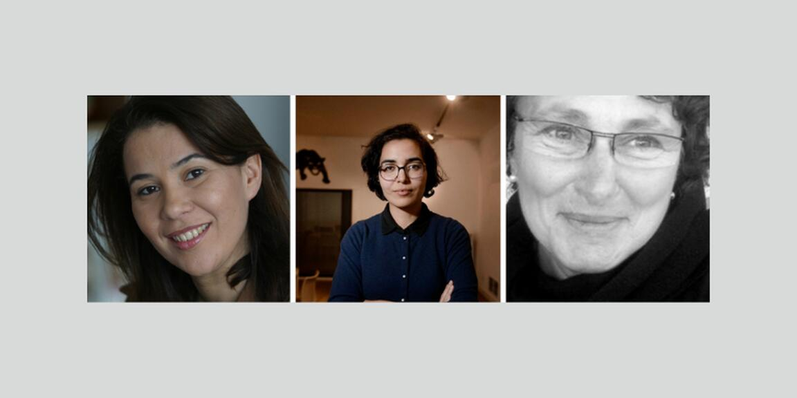 Syhem Belkhodja, Nadia Fadil, Laurence Podselver
