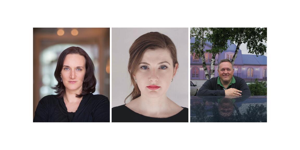 Terezia Mora, Olga Grjasnowa, Thomas Meinecke