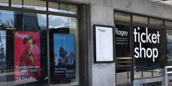 Flagey zoekt een deeltijds Assistent(e) Ticketshop