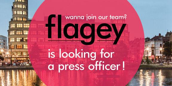 Flagey zoekt nieuwe persmedewerker