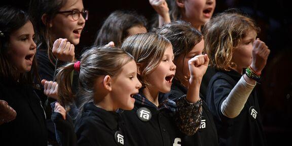 8 - 12 jaar: voorbereidende koorwerking in basisscholen
