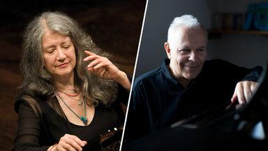 Martha Argerich & Stephen Kovacevich