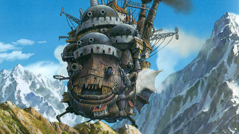 Howl's moving castle (FR)