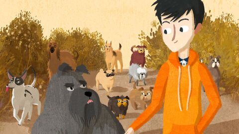 Jacob, Mimi en de pratende honden