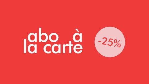 -25% op 4 activiteiten naar keuze
