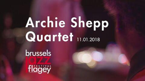 Video: Archie Shepp Quartet in Flagey