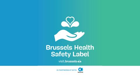 Flagey ontvangt het 'Brussels Health Safety Label'