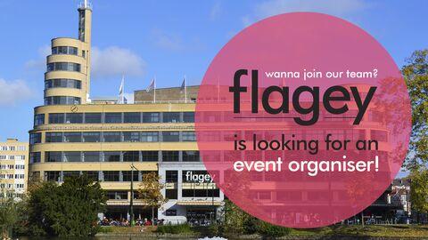 Flagey zoekt een event organiser